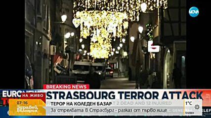 След стрелбата в Страсбург: Депутати прекараха нощта в сградата на ЕП