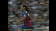 Ronaldinho Вкарва Гол