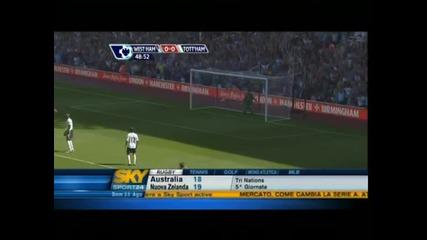 West Ham United - Tottenham Hotspur 1:2