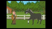 Family Guy Puting Down The Horse