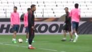 И КАС отряза Чоло за финала в Лига Европа