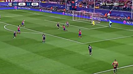 Атлетико Мадрид 1 - 0 Байерн Мюнхен 27.04.2016
