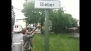 justin bieber in Germany (bieber Place)