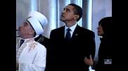 Обама в джамията в Истанбул,турция - 2013