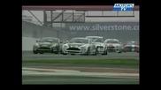 Crash Ralenti Ktm vs Bmw Gt4 European Cup Silverstone