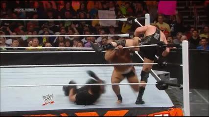 Александър Русев дебютира в Wwe на Royal Rumble '14
