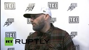 Russia: Limp Bizkit performs in Moscow during 20 city tour of Russia