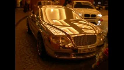 Бентли от бяло злато в Дубай