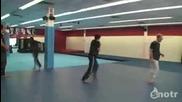 Тренировка на нинджа с топка