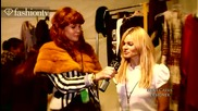 Fashiontv - Elene Cassis Backstage Nyfw 201