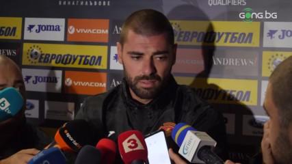 Дебютантът Георгиев: Амбициран съм да се докажа в националния