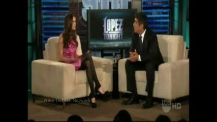 Нина Добрев говори на български и за България в Tv шоу