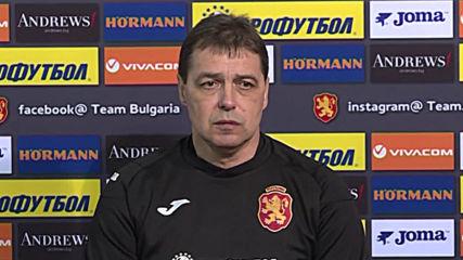 Петър Хубчев: Всяка точка или гол може да реши класирането
