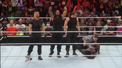 Mark Henry vs. Roman Reigns, Raw 17 Feb, 2014 - www.uget.in