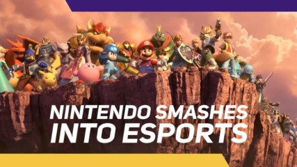 Nintendo's gonna Super Smash Bros. its way into eSports