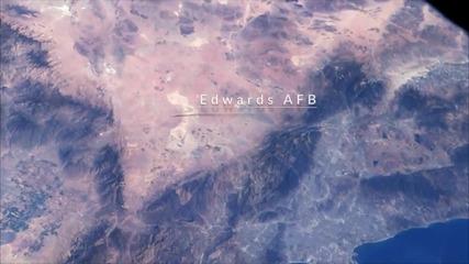 Гледката към Земята на астронавтите от Международната Космическа Станция