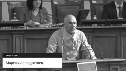 Марешки напълно защитен в парламента