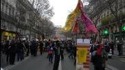 France: Thousands of pro-refugee activists march through Paris