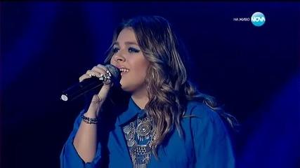 Виктория Георгиева - X Factor Live (05.01.2016)