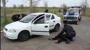Полицейска Акция Край Бургас