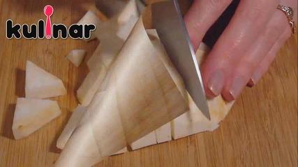 Рецепта за Скумрия на фурна със зеленчуци