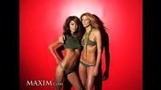 Maxim Battlestar Babes - Grace Park and Tricia Helfer