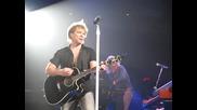 Bon Jovi When We Were Beautiful Live Blaisdell Center Arena, Honolulu, Hawaii February 2010