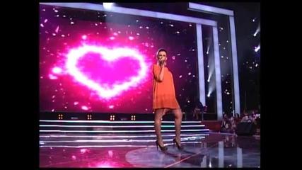 Andreana Čekić - Zabraniću srcu da te voli (Zvezde Granda 2011_2012 - Emisija 19 - 11.02.2012)