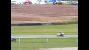 Нестандартно поведение на мотоциклет след катастрофа!