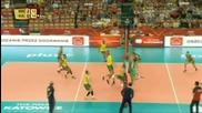 България загуби от Бразилия с 0:3 на Световното първенство по Волейбол в Полша 10.09.2014