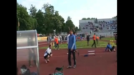 Ehsan Hadadi - 69,32m New Asian Record