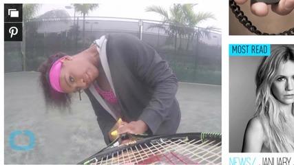 Serena Pulls a Beyoncé, Twerks on the Tennis Court in ''7/11'' Video!