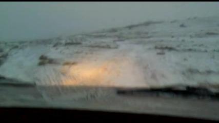Първи сняг Чокоба