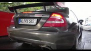 Mercedes Clk Amg Dtm Decatted exhaust