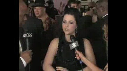 Grammy Awards 2008 - Evanescence Interview