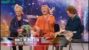 Britains got talent - Knit n natter