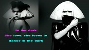 Lady Gaga - Dance In The Dark (karaoke - instrumental) with lyrics