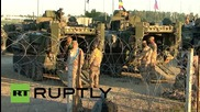 "Romania: US armoured vehicles begin ""Cavalry March"" on way to joint drills"