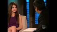 Интервю със Selena Gomez в Lopez Tonight