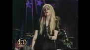 Avril Lavigne: The Best Damn Tour Интервю