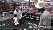 50 Cent и Флойд Мейуедър във фитнеса
