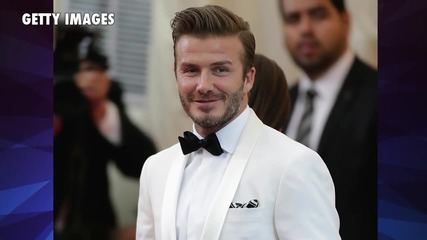 David Beckham Won't Let His Son Date Alone