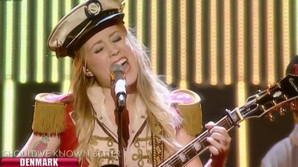 Евровизия 2012 - Дания | Soluna Samay - Should've Known Better