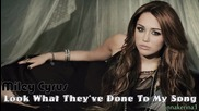 Miley Cyrus - Look What They've Done To My Song ( New song 2013 )