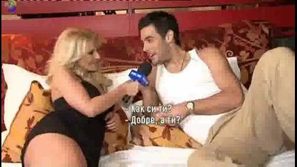 Десислава и Костас Мартакис снимат Agapi Mou, репортаж Pro Bg