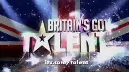 Faces of Disco - Britains Got Talent