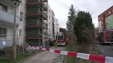 Взрив в жилищна сграда в Германия, има жертва (ВИДЕО+СНИМКИ)
