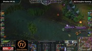 League of Legends - Bradva Op vs Crossfire Gaming G1 - Afk Tv Еп. 30 част 7