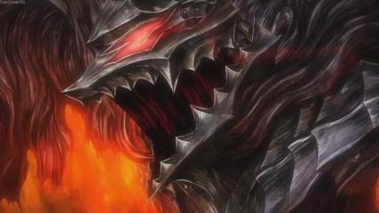 Бг превод : Берсерк - Звяр в черно # Berserk Amv - Beast in Black (unofficial music video) hd