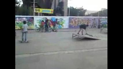 Скейтъри на Спрайт Графити фест 2011